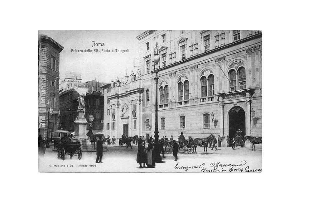 piazza san silvestro, 1903,ebay.it