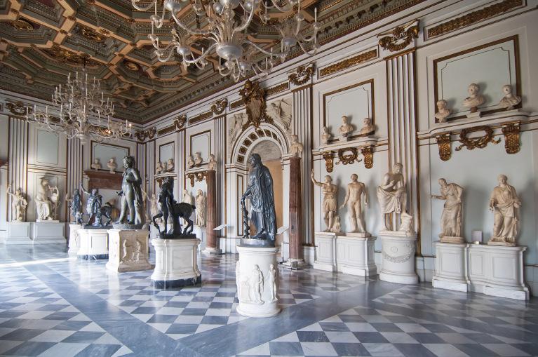 В залах Капитолийских музеев