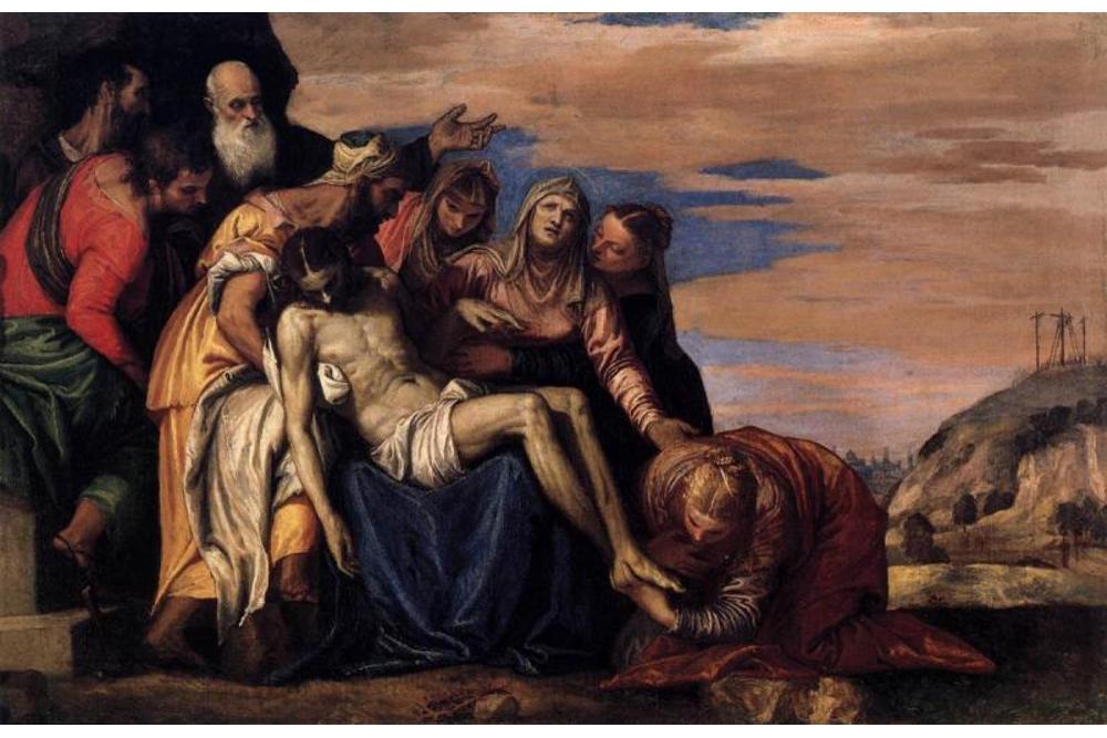 Паоло Кальяри, прозванный Веронезе (около 1528 – 1588). Снятие с креста. Ок. 1550. Холст, масло. Верона, Музей Кастельвеккьо. Фотография © Умберто Томба из архива музея
