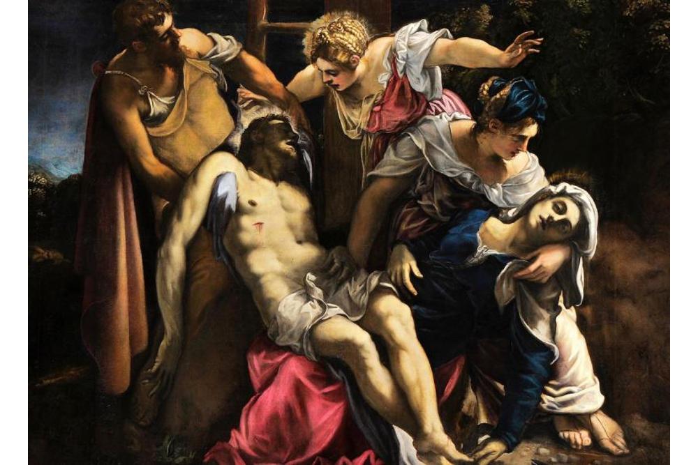 Якопо Робусти, прозванный Тинторетто (около 1518 – 1594). Снятие с креста. Около 1560. Холст, масло. Венеция, Галерея Академии