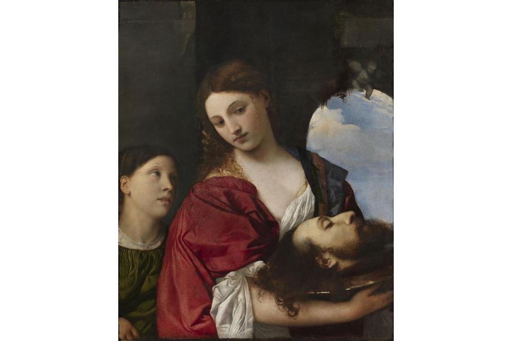 Тициан Вечеллио (1488/1490–1576). Саломея. Около 1515. Холст, масло. Рим, Галерея Дориа Памфили © 2017 Amministrazione Doria Pamphilj s.r.l.