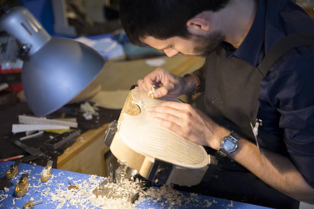 Мастер по изготовлению скрипок Томмазо Педани © Nicolï Panzeri