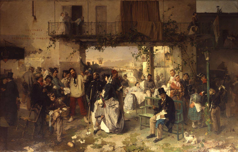 Доменико Индуно, Боллеттино ди Виллафранка, 1861 год