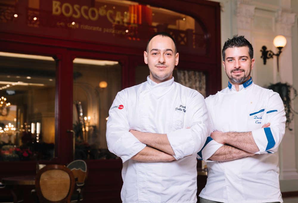 Паоло Делла Валле и шеф Bosco Café – Давиде Корсо