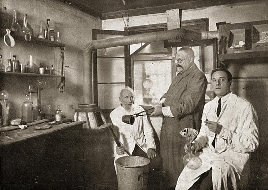 Химический кабинет © Mario BertaBattiloro SRL
