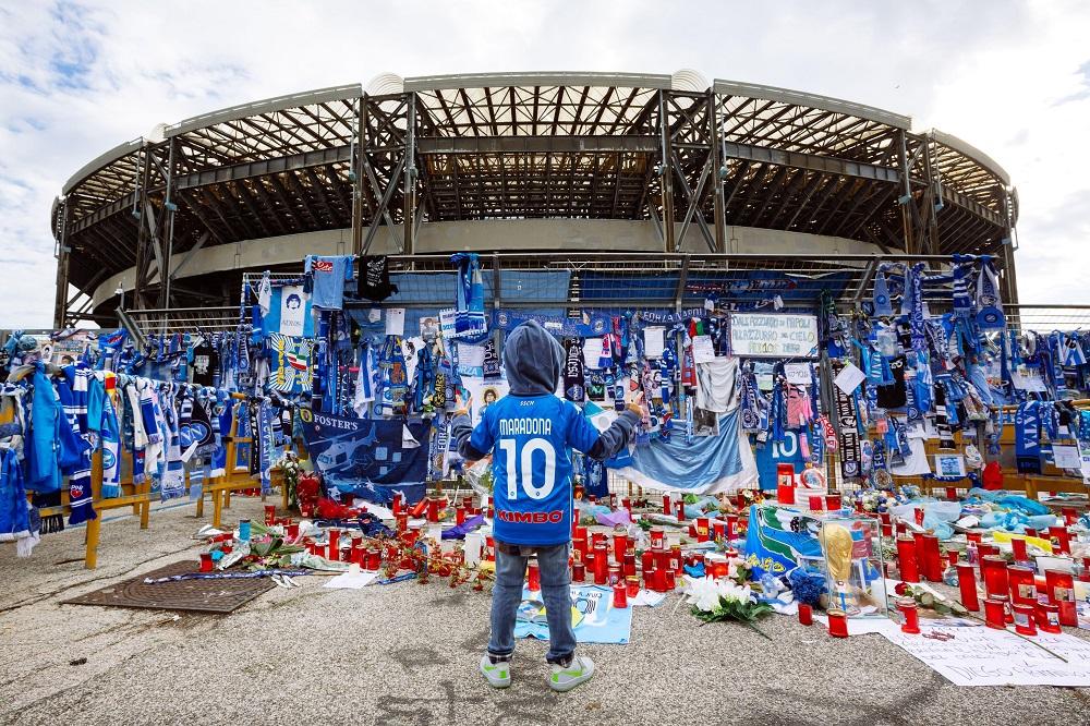 Стадион имени Диего Армандо Марадона в Неаполе